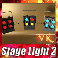 Stage Light 02 - Moving Head Led.